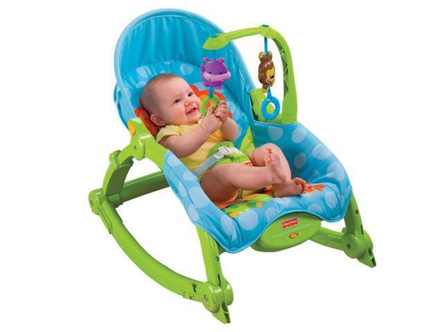 Chia sẻ kinh nghiệm giúp mẹ chọn mua ghế rung cho bé