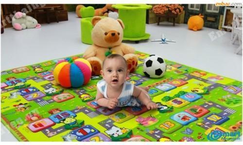 Những điều lưu ý khi mẹ lựa chọn thảm xốp cho bé