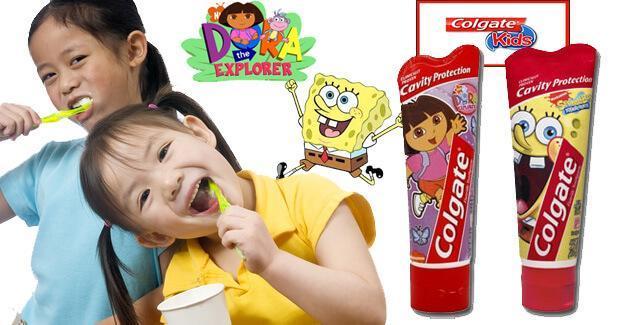 Những lưu ý khi chọn kem đánh răng và bàn chải đánh răng cho bé